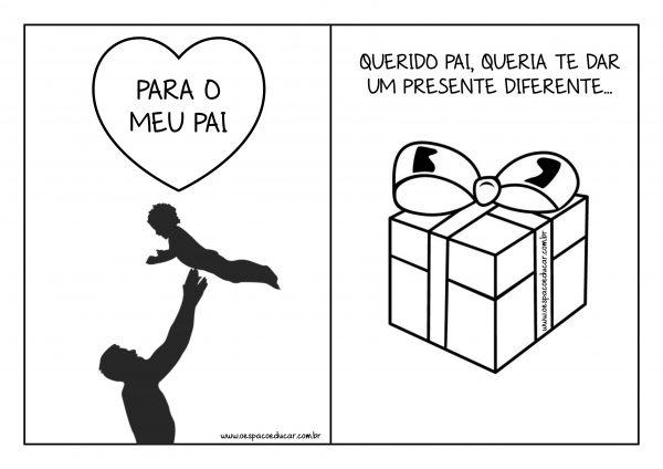 Dia dos pais: livrinho para presentear