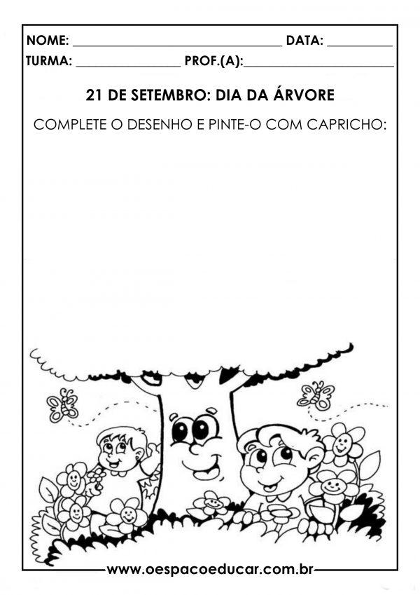 Educação Infantil: atividades para o Dia da Árvore (21/09)