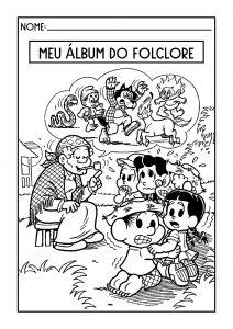 Alfabetização: Álbum do Folclore!
