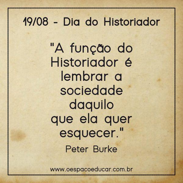 Dia do Historiador histórico!