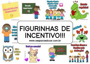 Aulas remotas: Figurinhas de Incentivo!
