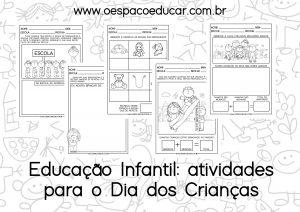 Dia das crianças na Educação Infantil: sugestões de atividades práticas e atividades para imprimir!