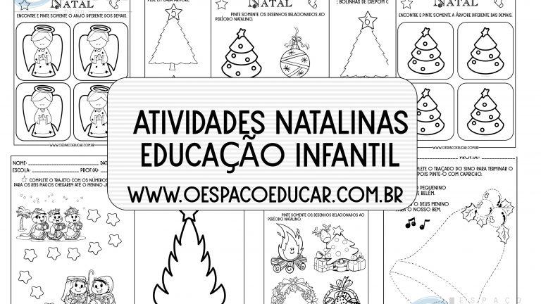 Educação Infantil: atividades natalinas para download!