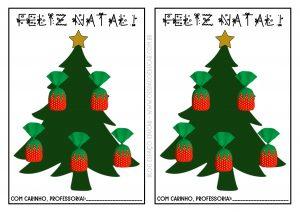 Lembrancinha natalina para imprimir!