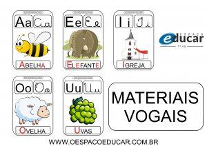Cartazes, atividades e várias sugestões para trabalhar as vogais!
