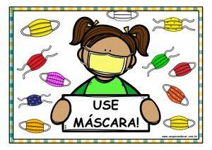 Volta às aulas: cartazes educativos, músicas, histórias e ideias para incentivar o uso da máscara!
