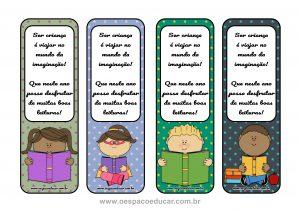 Volta às aulas: marca páginas para incentivo a leitura!