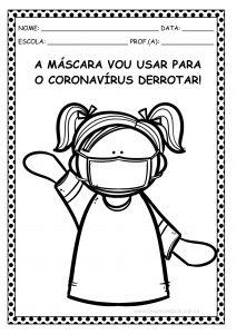 Educação Infantil: ideias e atividades para trabalhar o uso da máscara!
