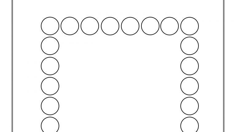 Educação Infantil: atividade de pintura das formas geométricas utilizando cotonete!
