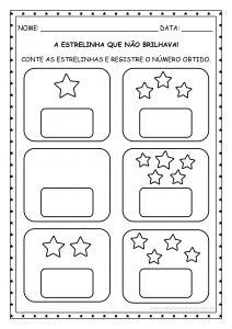 """Educação Infantil: sequência didática da história """"A estrelinha que não brilhava""""!"""