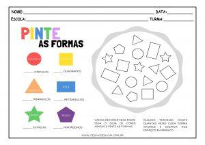 Atividades com cores e formas!