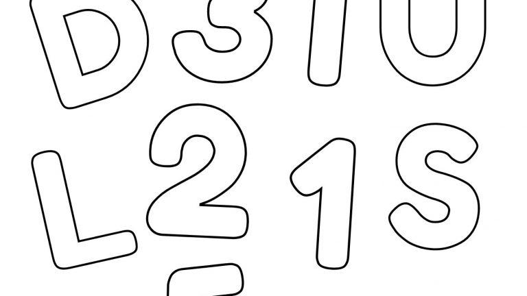 Atividade de diferenciação entre letras e números!